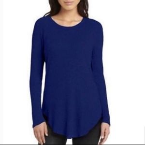 Chaser Navy Waffle Knit Thermal Sweater